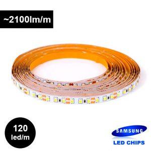 18W/m 12V LED-nauha Samsungin ledeillä CRI></noscript>80, pitkä takuu