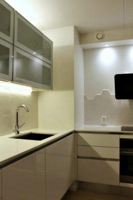 Keittiövalaistus Valotehtaan led-valoilla