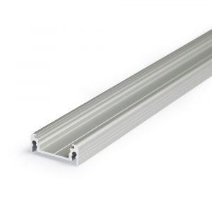 Matalan mallinen pinta-asennus LED-profiili max. 14mm leveälle LED-nauhalle