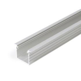Uppoasennettava isokokoinen LINJA-UPPO20 alumiinilista LED-nauhalle