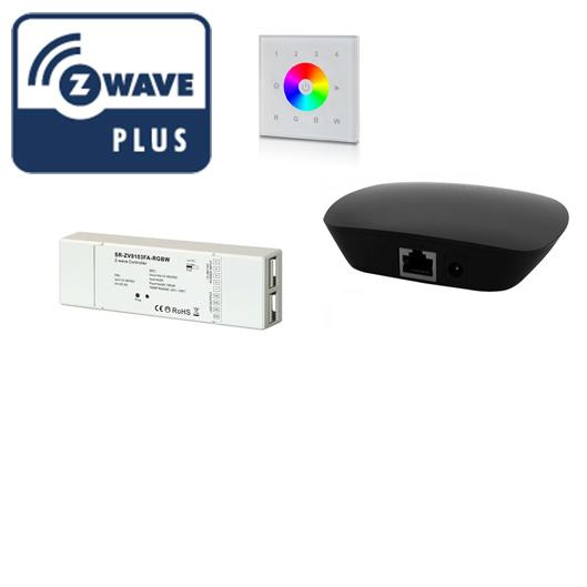 Z-Wave valaistusohjaimet älykotiin led-nauhoille