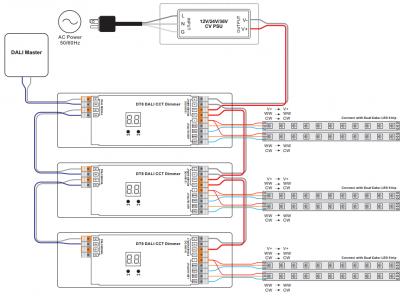 Dali Dimming Wiring Diagram on