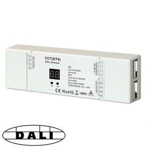 DALI DT8 CCT eli värilämpötilasäädettävä DALI-ohjain