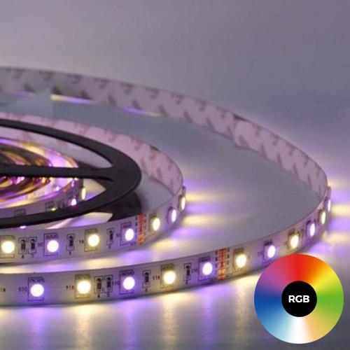 Function YourLED Eco -nauha, pituus 1m, musta, RGB-värinvaihto