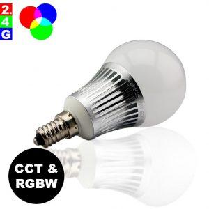 Älylamppu E14 5W LED-lamppu RGB+CCT WiFi – Smart LED 2.4G