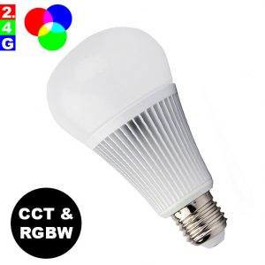 Älylamppu E27 9W LED-lamppu RGB+CCT WiFi