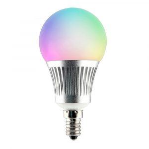 E14 5W RGB+CCT älylamppu langaton ohjaus