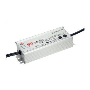 MEANWELL LED-vakiojännitelähde 60W 24V IP67