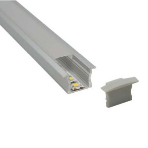 Uppoasennettava LED profiili PT15R