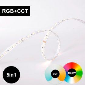 RGB + CCT LED-nauha - erittäin tehokas ja laadukas