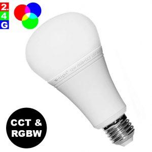 Älylamppu E27 12W LED-lamppu RGB+CCT WiFi – Smart LED 2.4G