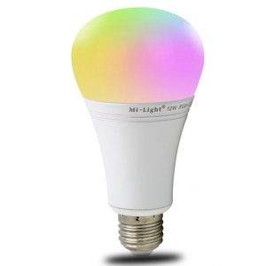 12W E27 LED-älylamppu 1100lm RGB+CCT