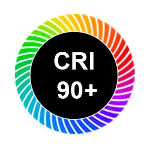 Korkean värintoistokyvyn LED-nauhat CRI>90+