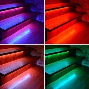 Moniväriset RGB, RGBW & RGB+CCT LED-nauhat