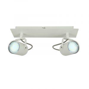 Arles 2-osainen spottivalaisin LED valkoinen GU10 polttimoille