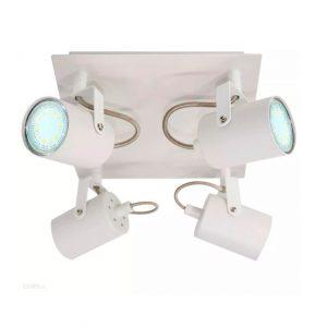 4-osainen spottivalaisin LED GU10 valkoinen
