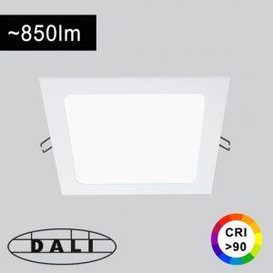 12W LED-paneelivalaisin DALI-himmennettävä CRI90