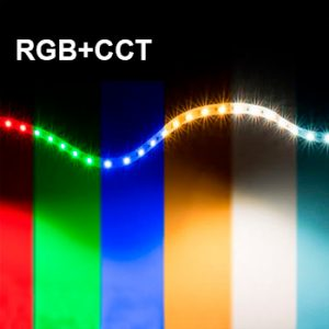 RGB+CCT LED-nauhat