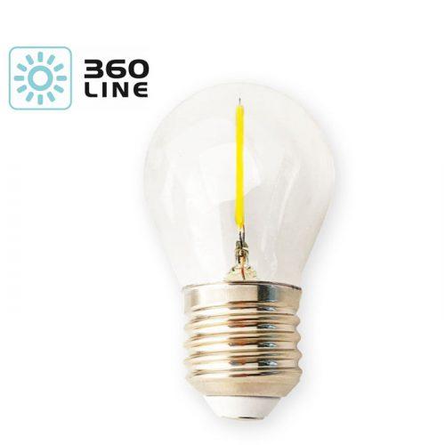 1,3W E27 LED-polttimo