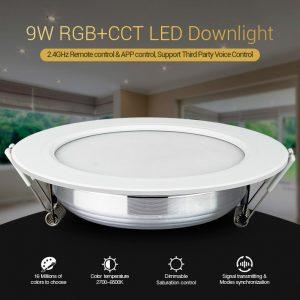 9W LED-valaisin RGB + CCT säädöillä