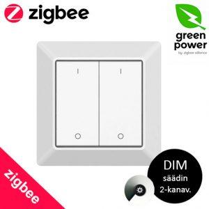 ZigBee valotkaisija 2-kanavainen himmentimellä, ZigBee GREEN POWER
