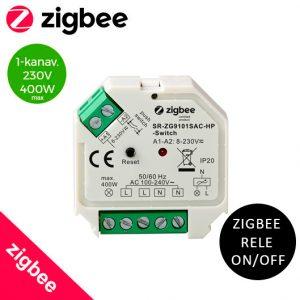 Zigbee Rele on/off 230V