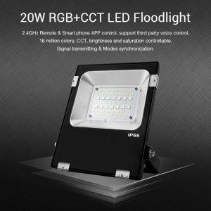 20W RGB+CCT LED-valonheitin Ip65
