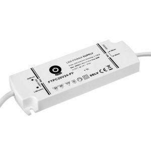 20w 24v led-muuntaja ip44