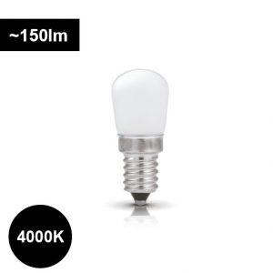 LED jääkaappilamppu e14 1,7W 4000K jääkaappeihin ja liesituulettimiin