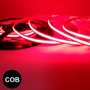 Punainen pisteetön led-valonauha COB