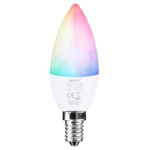 E14 RGB+CCT LED-kynttilälamppu älylamppu