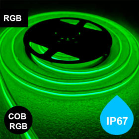 IP67 RGB-nauha 15W/m 24V pisteetön kosteussuojattu