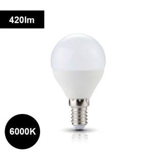 6000K 4,5W e14 420lm LED-lamppu