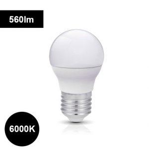 7W 6000K LED-lamppu 560lm