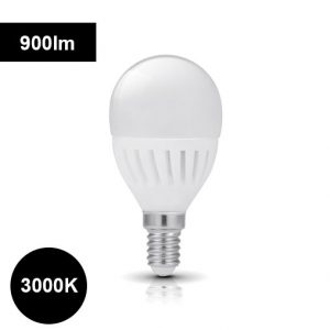 3000K 9W E14 LED-polttimo pyöreä 900lm