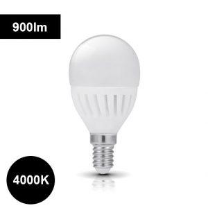 4000K 9W E14 LED-polttimo pyöreä 900lm