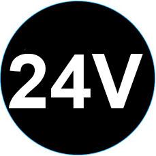 24V LED-muuntajat eli 24V vakiojännitelähteet
