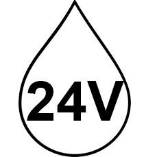 Kosteussuojatut IP-muuntajat 24V