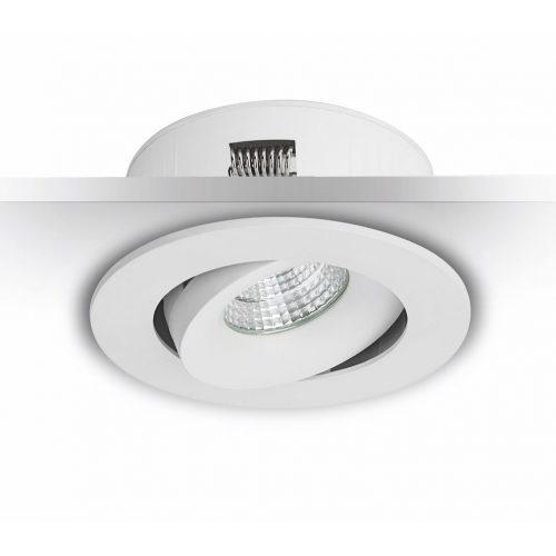 7W LED-alasvalo ulkokäyttöön räystään alle valkoinen himmennettävä