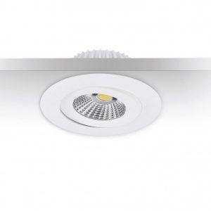 6W LED-alasvalo himmennettävä valkoinen IP44